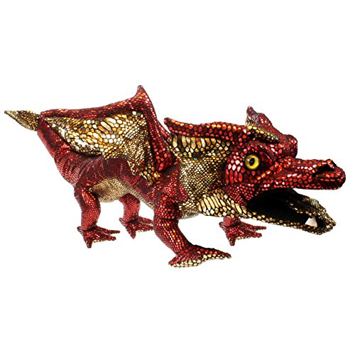 The Puppet Company Shiny Red Dragon Hand Puppet ()
