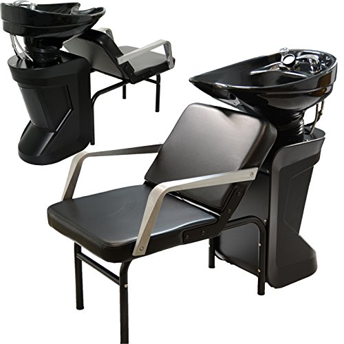 Ceramic Adjustable Shampoo Bowl Backwash Station with Triple-Certified Vacuum Breaker