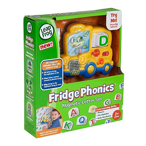 Fridge Phonics Fridge - LeapFrog Fridge Phonics Magnetic Alphabet Set - Styles May Vary