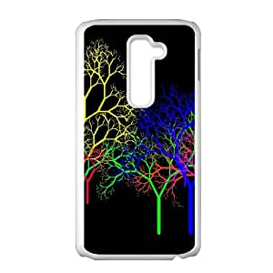 Colorful Fantasy Trippy LG G2 Cell Phone Case White LMS3878780