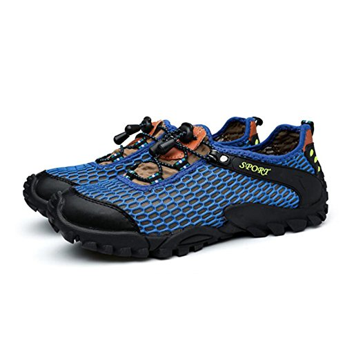 Size Outdoor Slip Wading Breathable Hiking Hiking Color Shoes Shoes 39 Shoes Summer C Mesh Men's Exercise Trekking Sneakers Non T4pzwSq