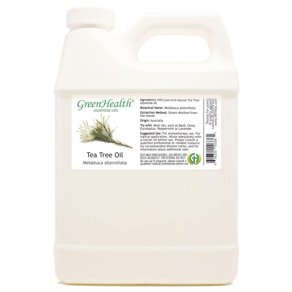 Greenhealth - Tea Tree 100% Pure Essential Oil - 32 fl oz by GreenHealth