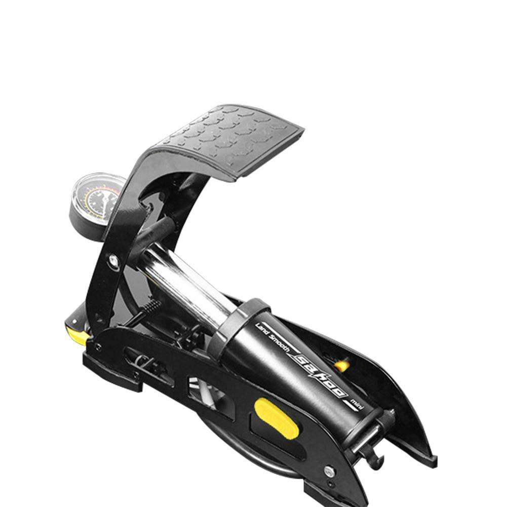 Amazon.es: Katurn Pie Compresor de Aire, Bomba Inflador de Aire Manual Portátil con Manómetro - Bomba de Neumáticos de Alta Presión para Coche Moto ...