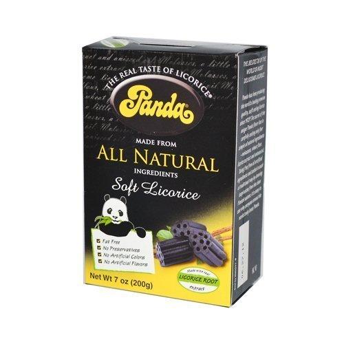 Panda All Natural Soft Licorice Chew 198 gm (Pack of 12) ( Value Bulk Multi-pack)
