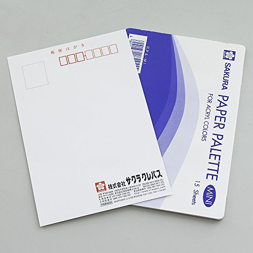 Paper Palette Mini RPA-MI (20) 15 sheets x 20 pieces by Sakura Crepas