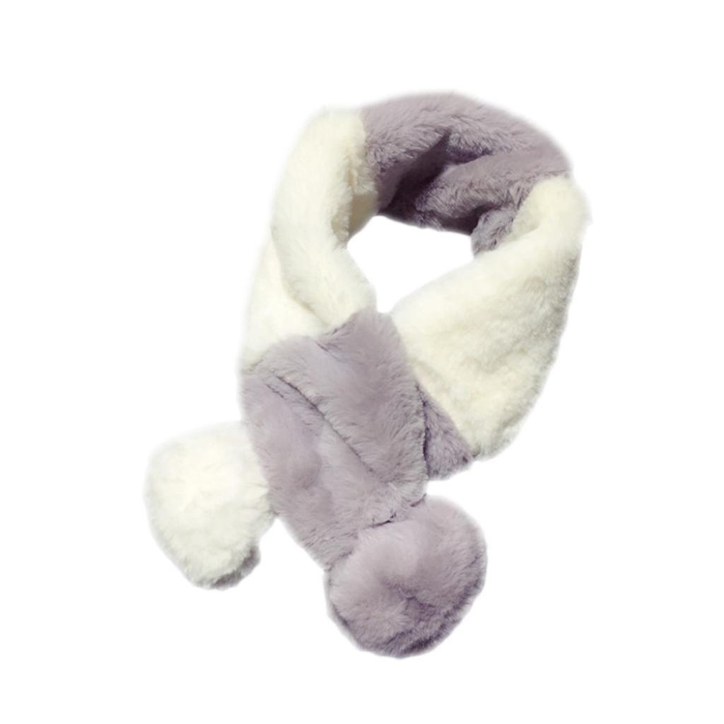 K-youth® Bufandas de Bebé, Otoño Invierno Niños Niñas caliente de bufanda