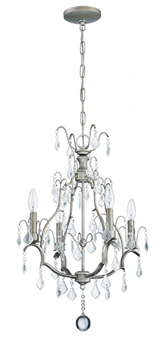 new styles bfbc5 ecb1d Craftmade 1074C-AO 4 Light Mini Chandelier - - Amazon.com