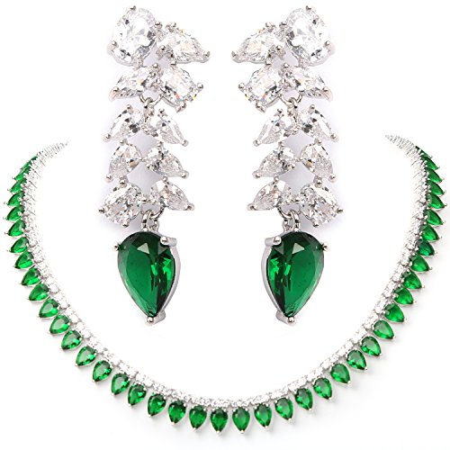 Cubic Zirconia Necklace : Accessories Jewelry - 4