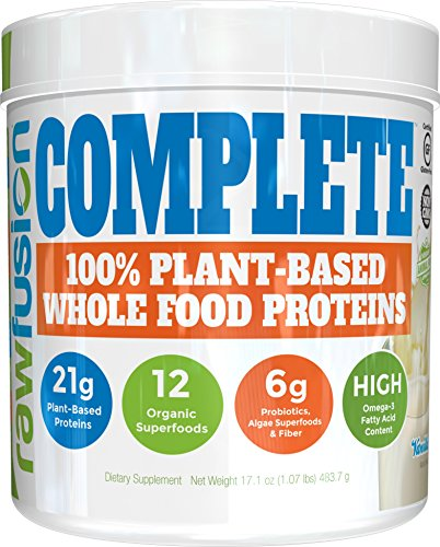 SAN Nutrition RawFusion Complete Plant-Based Whole Food M...