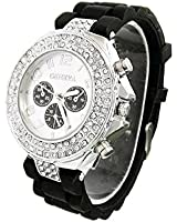 Geneva Women's Analog Dial Quartz Sport Wrist Watch