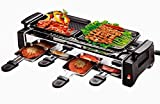 Dtes Electric Barbeque Grill With 2 Electric Frying Pan Non Stick With 4 Electric Omlette Pan With Roasting Function