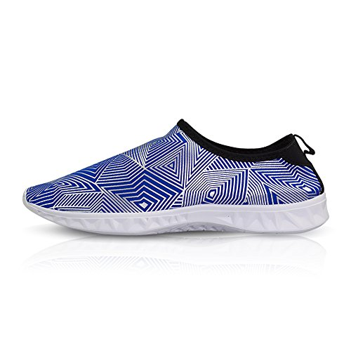 Swim Water Quick Surf Shoes Running and Womens Beach Barefoot silver Dry Shoes Socks Mens for Navy Sport Yoga VLLY qARZptn