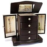 Classic Wooden Jewelry Box Finish: Espresso image