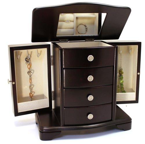 Classic Jewelry Box (Espresso)
