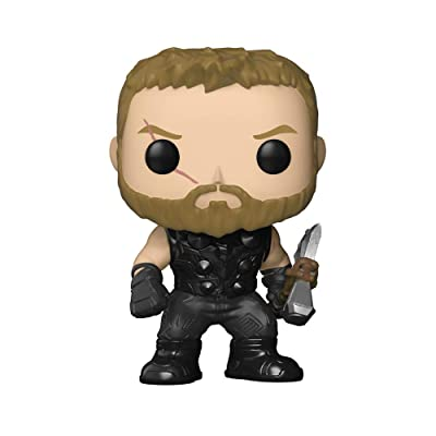 Funko POP! Marvel: Avengers Infinity War - Thor: Funko Pop! Marvel:: Toys & Games
