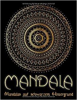 Mandala 95 Mandalas Fur Erwachsene Auf Schwarzem Hintergrund Fur