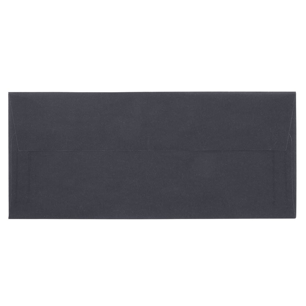 Jam用紙チャコールグレー半透明Vellum封筒 Business #10 グレイ B00LV5H7AE 1パックにつき25 Business #10