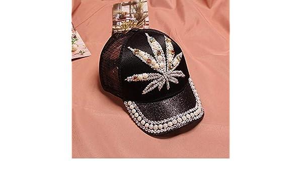 zhuzhuwen Sombreros para niños, señoras, Hojas de Verano, Padre ...