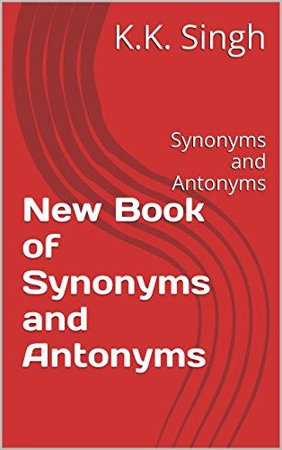 Synonyms Antonyms Ebook
