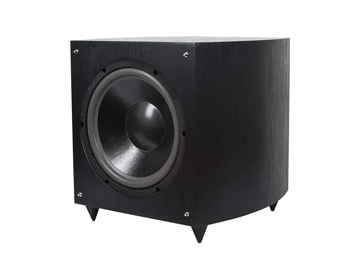 Monoprice 12 Inch 150 Watt Powered Subwoofer, Black (109723) by Monoprice