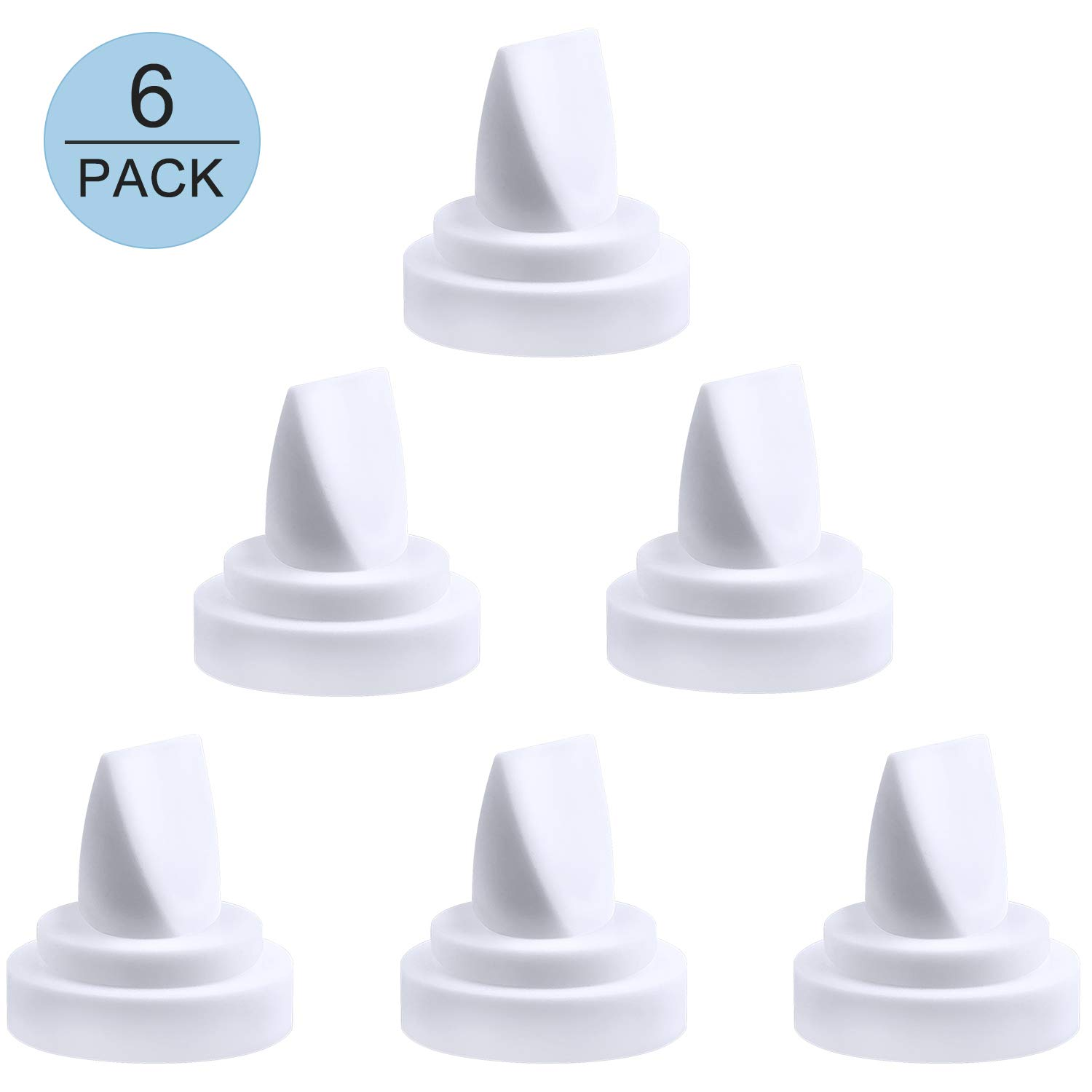 Duckbill Valves for Medela and Spectra, Tinabless 6 Count Pump Duckbill Valve for Spectra S1 Spectra S2 Valves and Medela Pump in Style Valves