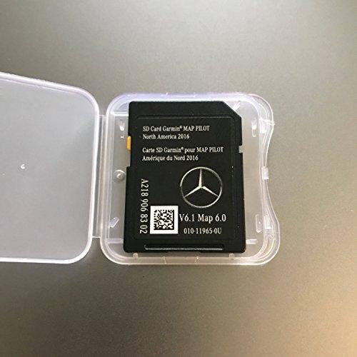 2016 2017 2018 Mercedes-Benz Garmin Map PILOT GPS Navigation SD Card A2189068302