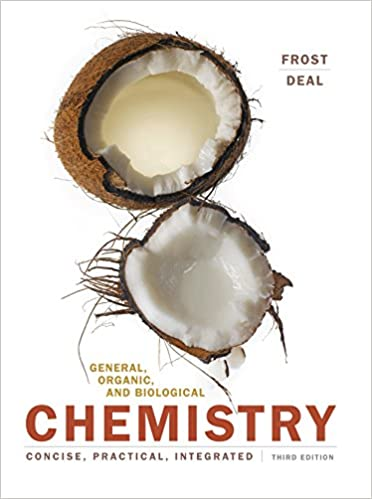 General, Organic, and Biological Chemistry 3, Laura D  Frost, S