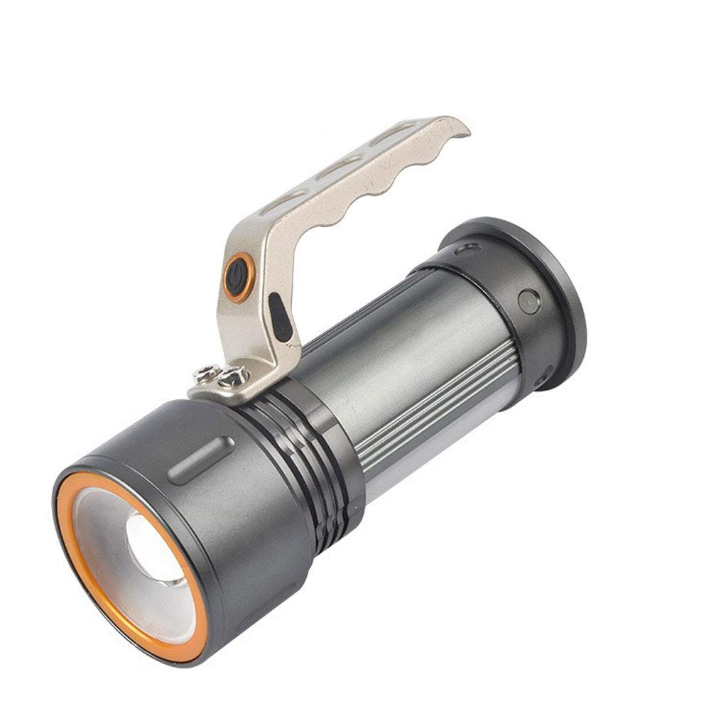 Searchlight LED Portable Miner's lamp Glare Flashlight Long-Range Charging high-Power Camping Light by ZEGEGE