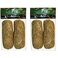 Summit 130 Clear-Water Barley Straw Bales, 2 Packs of 2-4 Total