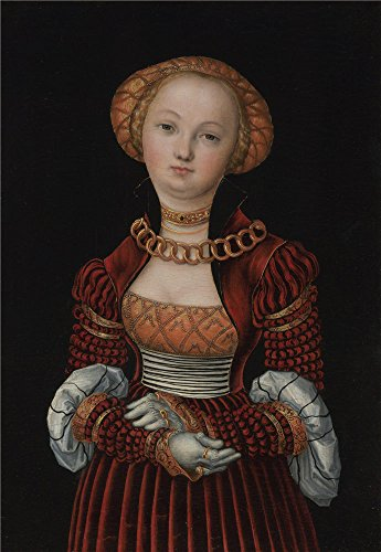 Oil Painting 'Lucas Cranach The Elder Portrait Of A Woman', 20 x 29 inch / 51 x 74 cm , on High Definition HD canvas prints is for Gifts And - Coupon Code Megabus