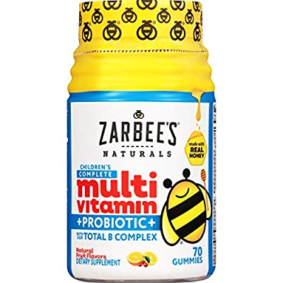 Zarbee's Naturals Toddler and Children's Multivitamin Gummies