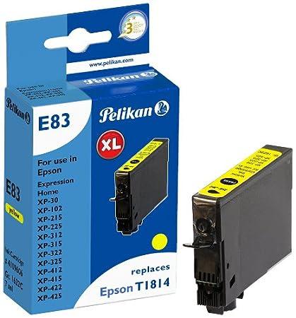 Pelikan 4109606 - Cartucho de tinta Epson Expression Home XP-102 ...