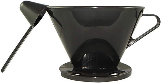 Doppio - Dispensador de plástico para café con un embudo tamaño ...