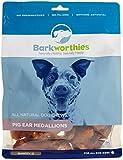 Barkworthies 12-Piece Pork Ear Medallions Treat Review