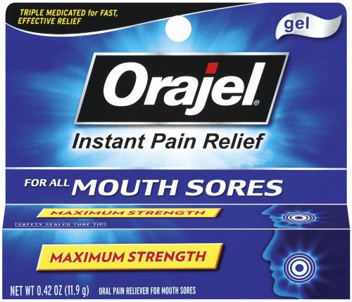 Orajel Mouth Gel Sore