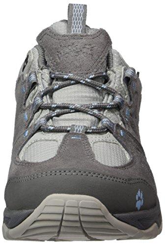 da Texapore W donna 5 Jack basse Attack grigio colore Scarpe Wolfskin Low Mtn da escursionismo CUUqYwP