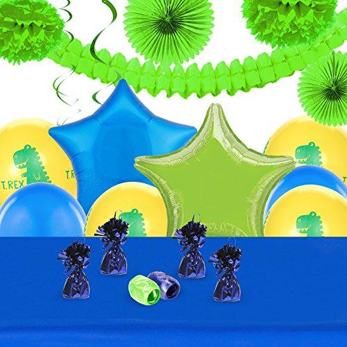 T-Rex Childrens Birthday Party Supplies - Decoration Pack