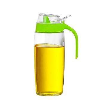 GARDEN botellas del condimento Botella de aceite de vidrio para el hogar Botella de aceite a