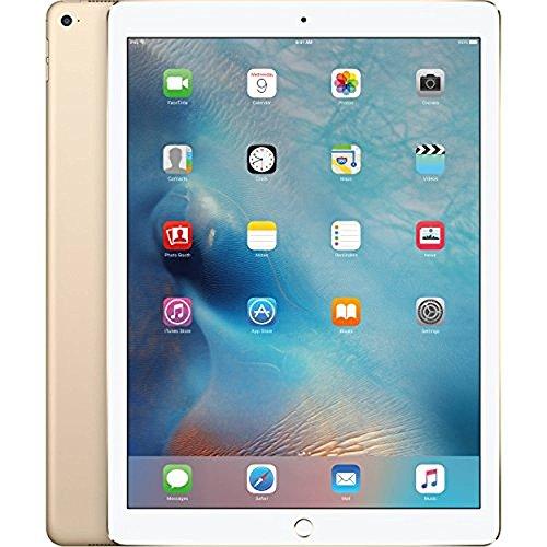 Apple iPad Pro Tablet (128GB, Wi-Fi, 9.7in) Gold (Renewed)