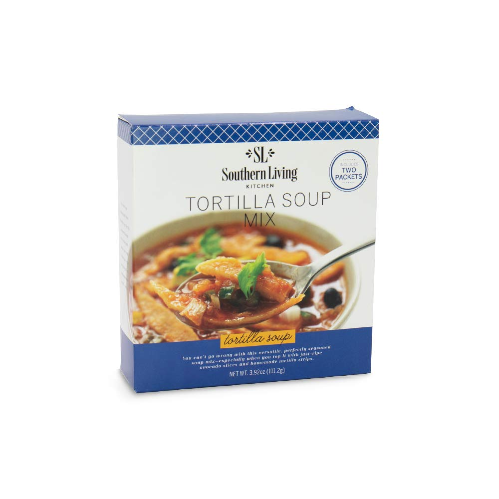 Gourmet Tortilla Soup Mix - from Southern Living, Dry Soup Mix, Easy Recipe for Tortilla Soup & Shredded Tortilla Chicken