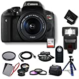 Canon EOS Rebel T6i DSLR Camera 18-55mm Lens Combo Kit