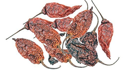 - Dried Whole Ghost Chile / Chili Pepper (Bhut Jolokia) 2 Oz. by TastePadThai