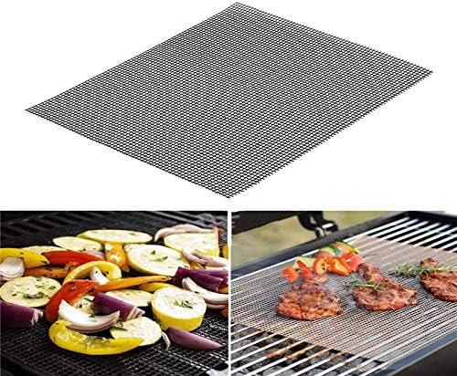 ZILONG Tapis Grille Barbecue Réutilisable, Tapis de Cuisson