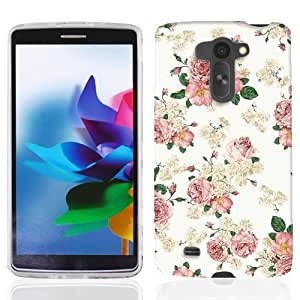 For LG G3 Vigor Classic Florals Case Cover