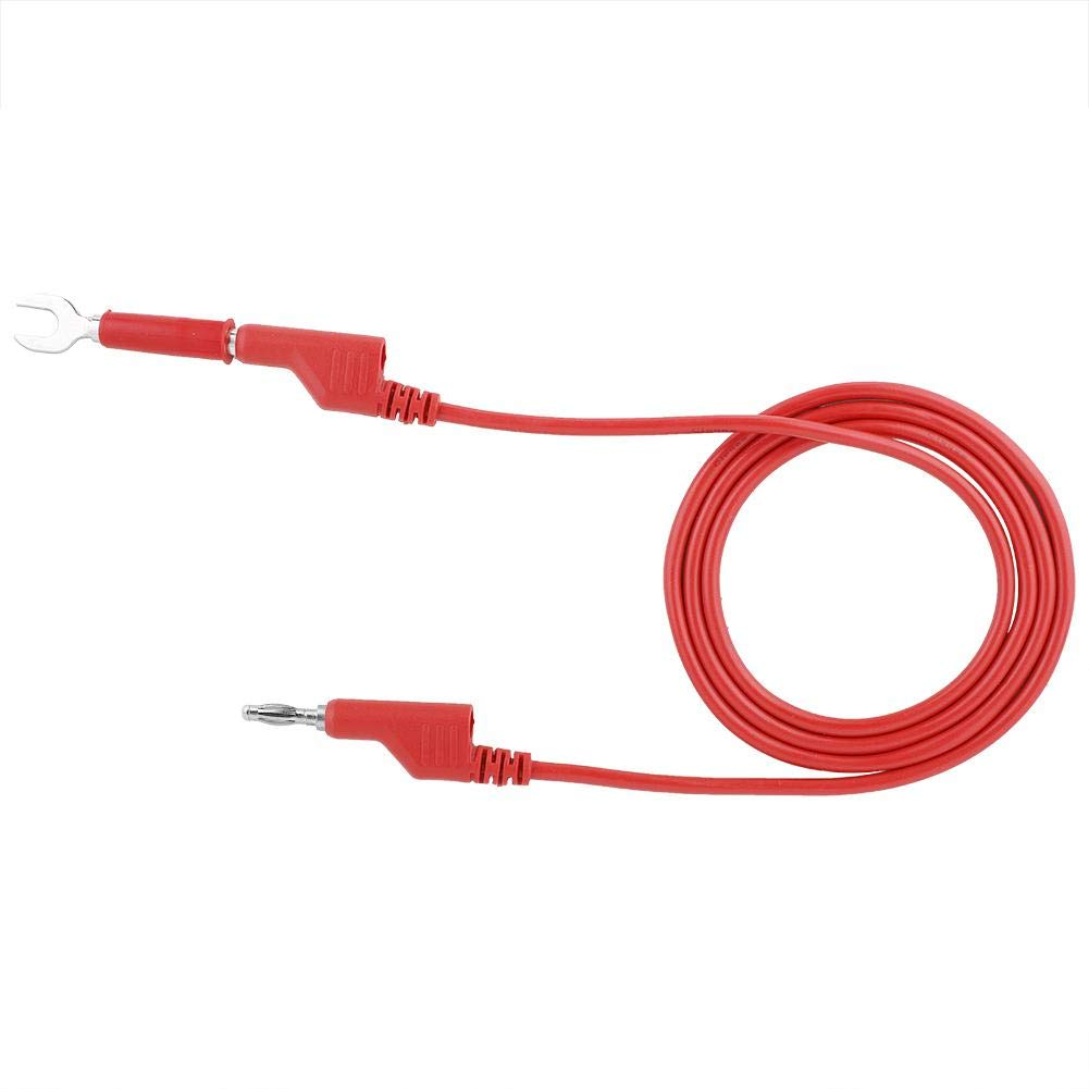 P1036B Electronic Test Leads,4mm Banana to Banana Plug Test Lead Kit for Multimeter Crocodile Clip /& U-Type Probe