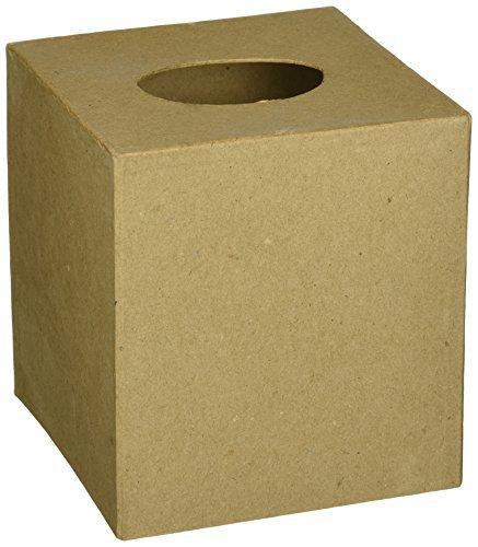 Corein.dinations Paper Mache Box 5in.x5in 6-Pack Bulk Buy Tissue