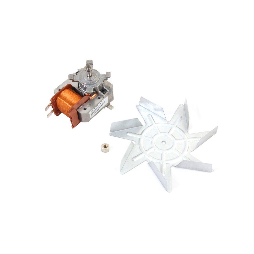 Smeg 795210620 Oven Fan Motor and Fan Blade