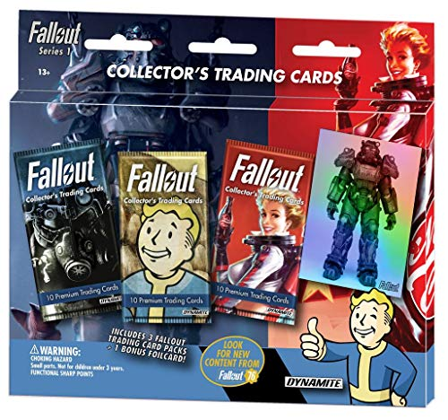 Fallout Trading Cards Series 1 - 3 Pack Blister Pack (Xbox One)