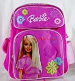 : Hot Pink Barbie Multi-pocket Toddler Backpack by Ruz
