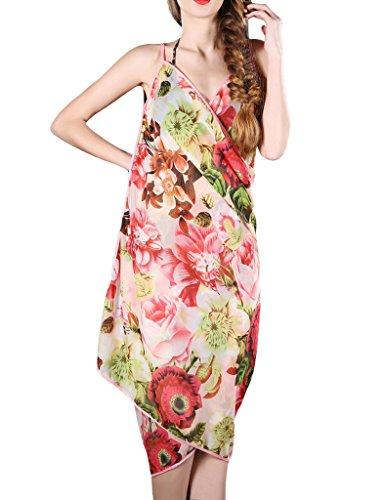 anca-demi-womens-floral-spaghetti-strap-dress-bikini-cover-up-green